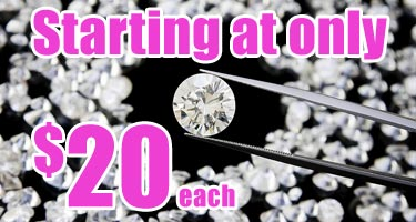 replacement diamonds starting at only $20